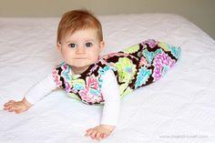 Wearable baby blanket!