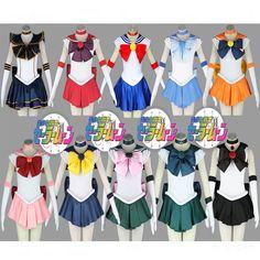 Sailor Moon Costumes ....