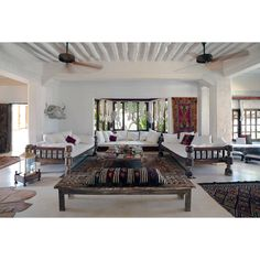 """The Majlis Resort, Lamu, Kenya - """"Go ahead, brag about your upcoming stay at a seaside resort—no one will ever guess you're sojourning in Kenya. In addition to aesthetic cues from Swahili, Arab and Indian cultures, The Majlis Resortavails itself of one Julian Schnabel's talents: fostering an inimitable beach-swank vibe between three luxe villas. Seafood, cocktails on the terrace and blessed solitude—check, check and check."""""""