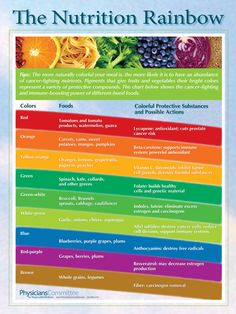 Nutrition Rainbow Food for Life healthy. A good health starts with what you put into your body. My lifestyle will consist of healthy food, therefore, preventing obesity. Nutrition Chart, Nutrition Tips, Health And Nutrition, Health And Wellness, Fruit Nutrition, Nutrition Education, Nutrition Month, Vegan Nutrition, Holistic Nutrition
