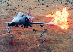☆ South African Air Force ✈ Cheetah - Bombs away Military Jets, Military Weapons, Military Aircraft, Fighter Aircraft, Fighter Jets, South African Air Force, Defence Force, Air Show, African History