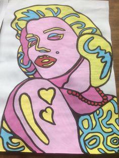 #マリリン・モンロー #Marilyn Monroe #sketch