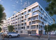 This is our project Templiner Park. 107 luxurious apartments are waiting for you in the city center of Berlin. Check out our website for further information!