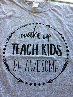 This item is unavailable - Teacher Shirts - Ideas of Teacher Shirts - Cute Outfits Teacher Wardrobe, Teacher Outfits, Teacher Shirts, Teacher Clothes, Teacher Appreciation Week, Employee Appreciation, Teacher Style, Vinyl Shirts, Teacher Favorite Things