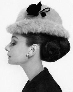 Audrey Hepburn, taken for Vogue 1964