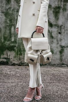 white, winter, fashion, Gucci, leather, Blair Eadie, Atlantic-Pacific