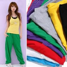 $2.30    Women's Trendy and Stylish Loose Fitting Casual Yoga Pants with Pockets