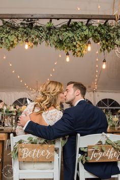 Bride and Groom Reception, hanging ladder, barn wedding