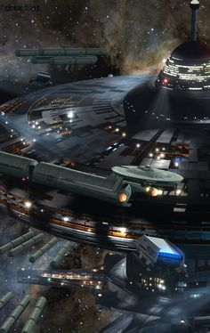 StarTrek - wow! I'd love to see this in reality in my lifetime - Gawd that is amazingly fantastic!q