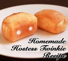 Twinkie Filling Recipe, Twinkie Cake Recipes, Twinkie Desserts, Twinkie Cupcakes, Cake Filling Recipes, Frosting Recipes, Funnel Cakes, Snack Recipes, Cooking Recipes