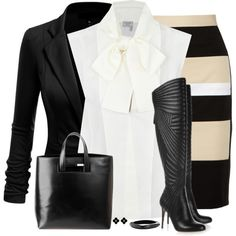 A fashion look from October 2014 featuring Lanvin blouses, DKNY skirts and J APOSTROPHE tote bags. Browse and shop related looks.