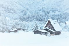 Shirakawa-go in snow by MIYAMOTO Y on 500px This place is Shirakawa-go in Gifu pref. Here is registered as the world heritage. The snow was already over 1 meter deep.