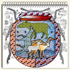 animals is the photos in the tin New Art, Printmaking, New Zealand, Screen Printing, Medieval, Art Projects, Murals, Artist, Contrast