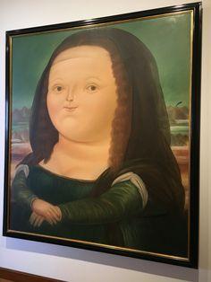 Mona Lisa de Botero