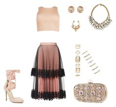 """""""Sem título #48"""" by choco-cat-girl on Polyvore featuring moda, Christopher Kane, Boohoo, Miss Selfridge, Forever 21, Charlotte Russe, Accessorize, Michael Kors, Lulu Frost e fashionista"""