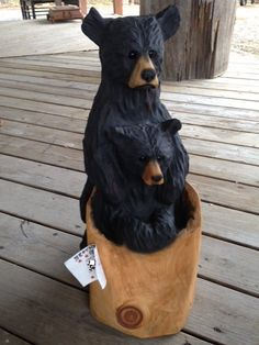 Chainsaw Wood Carving, Wood Carvings, Clay Bear, Simple Wood Carving, Tree Carving, Sticks And Stones, Scooby Doo, Wood Burning, Metal