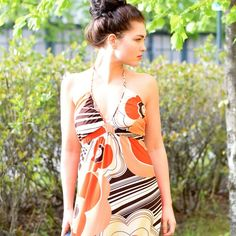 That 70s Dress Personal Style, Summer Outfits, One Piece, Fashion Outfits, Swimwear, Dresses, Bathing Suits, Vestidos, Fashion Suits