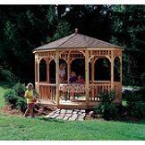 Colony Bay Outdoor Structures Chesapeake 12' Round Cedar Gazebo
