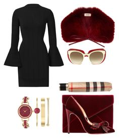 """Untitled #259"" by jeffrey-thomas on Polyvore featuring Keepsake the Label, Rebecca Minkoff, Christian Louboutin, Tod's, Anne Klein, Dolce&Gabbana and Burberry"