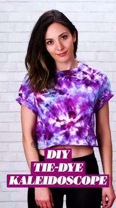 Tie Dye Patterns Diy, Clothes, Diy Tie Dye Tank Top, Tie Dye Diy, How To Tie Dye, Clothing Hacks, Dye, Diy Fashion, Tie Dye Tank Top