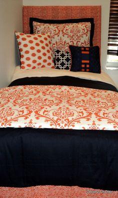 Auburn University AU Girl College Dorm Bedding Set