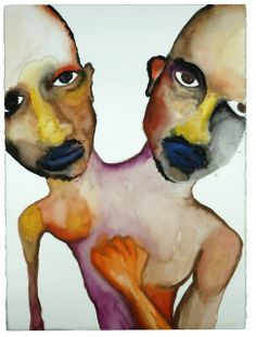 Twinz Painting by Marilyn Manson Arte Marilyn Manson, Marilyn Manson Paintings, The Villain, Portrait Art, Medium Art, American Artists, Cool Artwork, Art Images, Alter Ego