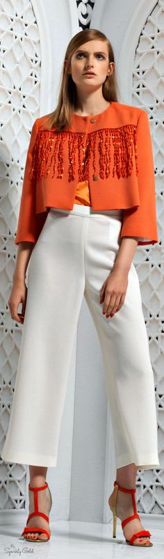 Genny Resort 2016 women fashion outfit clothing style apparel @roressclothes closet ideas