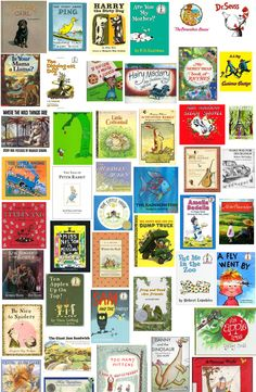 Best children's books: trying to find a gift for a friend and there are so many choices here! So many books that I loved growing up with!