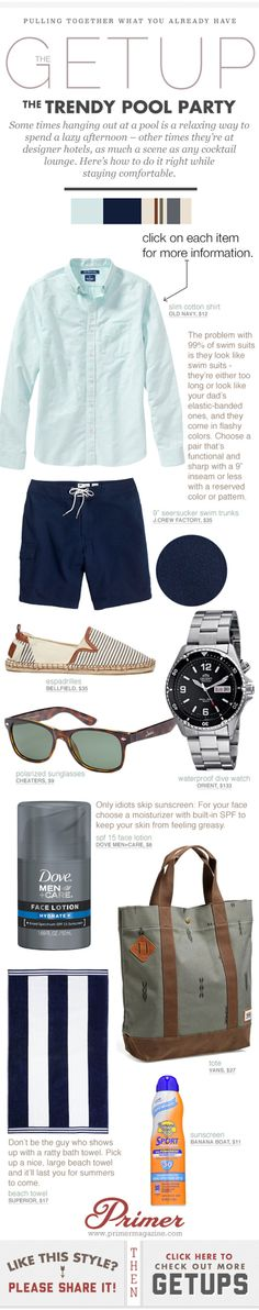 The Getup: The Trendy Summer Pool Party - flashleap