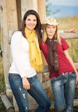 Write For Her Friendship scarf. Perfect gift for your best friend!