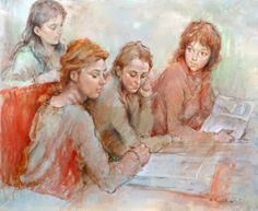 Reading and Art: Antonio Gonzalez-Collado