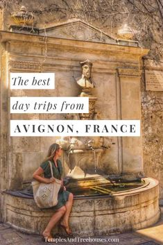Best day trips from Avignon, France: charming sights, towns & villages in Provence - Temples and Treehouses Europe Travel Tips, European Travel, Places To Travel, Travel Destinations, Places To Visit, European Vacation, Travel Deals, Aix En Provence, Provence France