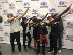 Jeremy and Josh are doing the best dabs. The rest of them are...ok. << shut your face hole