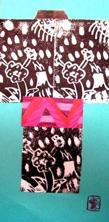 japanese kimono print
