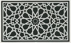 From Crystal & Dragon Islamic Motifs, Islamic Art Pattern, Arabic Pattern, Pattern Art, Geometric Patterns, Textures Patterns, Geometry Art, Sacred Geometry, Op Art
