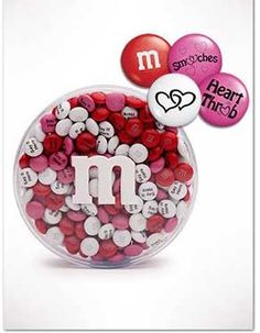 Personalized M's for Valentine's Day
