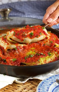 How to Make the BEST Stuffed Cabbage Rolls // Video – The Suburban Soapbox – Food and Drink – Emma… Easy Polish Recipes, Easy Soup Recipes, Chicken Recipes, Dinner Recipes, Cooking Recipes, Simple Recipes, Pastry Recipes, Beef Recipes, Beef Meals