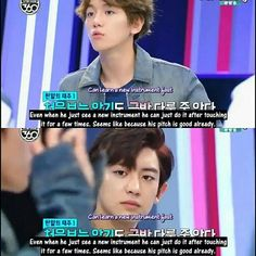 baekhyun compliments him and that stare chanyeol gave to him makes me emo why so angst