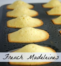Amazing French Madeleines that are so simple. - by Lavende and Lemonade