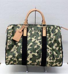 Louis Vuitton,  Monogramouflage, Speedy 35, HandBag, AA2008 - RARE - MINT #LouisVuitton #HandBag