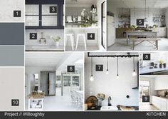 Nordic Style Kitchen Interior Design Mood Board Created On Sampleboard