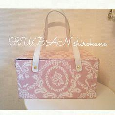 ランチバッグ♪ #カルトナージュ #ランチバッグ #保冷バッグ #cartonnage #bag #hand made #かわいい