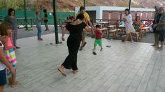Her yaştan çocukla Yaratıcı Dans... 20 Ağustos 2016, MSÜ GSF Etkinliği, Baykuş Plajı.