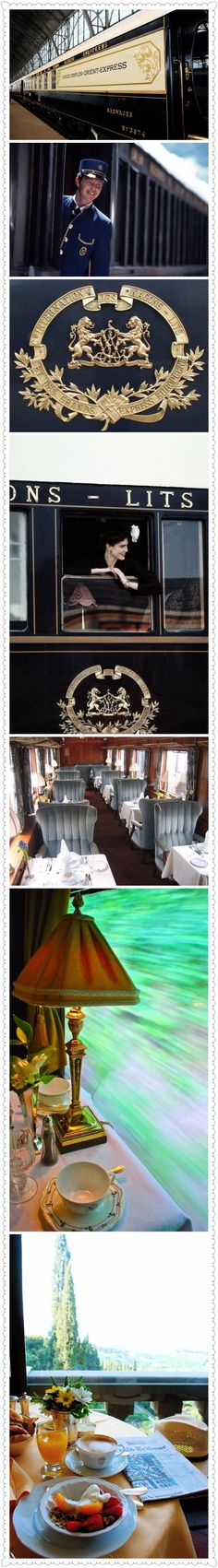 quenalbertini: Luxury Traveller on The Orient Express Train Vacations, Honeymoon Vacations, Simplon Orient Express, Luxe Life, Glamour, By Train, Train Rides, Train Travel, Luxury Travel