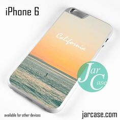 Caifornia Beach Phone case for iPhone 6 and other iPhone devices