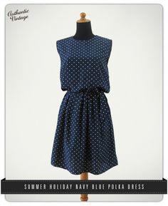 summer polka dress