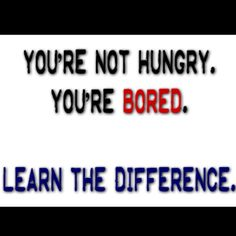 ... know the difference!