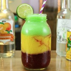 Tequila cocktails are distinctive as well as a great deal of entertaining to effectively investigate. You can prepare the unique margarita or like it within a number of flavors. Sangria Recipes, Margarita Recipes, Cocktail Recipes, Margarita Bar, Drink Recipes, Fruity Drinks, Frozen Drinks, Alcoholic Drinks, Summer Mixed Drinks
