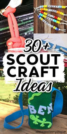 Over 30 Scout Crafts