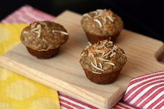 6g of protein in two Banana Coconut Mini Muffins (with recipe)